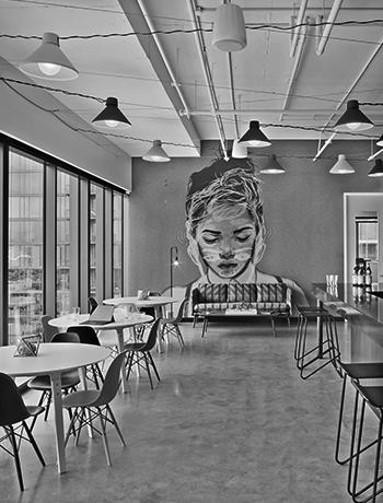 Sony Music Nashville Corporate interior | Hastings Architecture